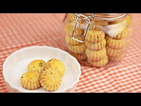 Salted Egg Yolk Cookies (蛋黄酥饼) - Chinese New Year - Recipe By ZaTaYaYummy