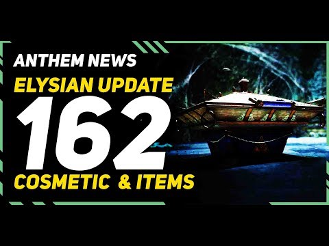 Anthem Elysian Update \\ Earn more than 160 Items