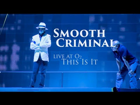 "MICHAEL JACKSON's Smooth Criminal ""This Is It"" Live At O2"