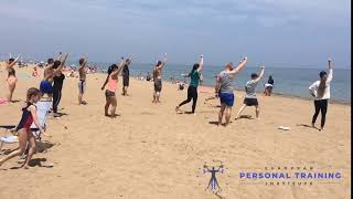 Learning the Kettlebell Turkish Get Up