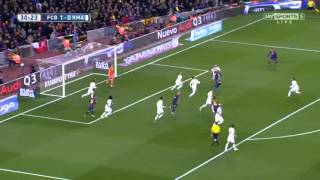 Barcelona vs Real Madrid 2-1 Sky Sports Highlights 22/3/2015