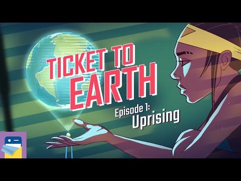 Ticket to Earth, Episode 1 Uprising: iOS iPad Gameplay Walkthrough (by Robot Circus)