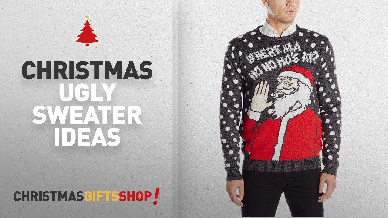 3 Santas Christmas Ugly Sweater Ideas: 3 Santas Men\'s Where Ma Ho Ho ...