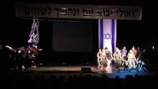 טקס יום השואה 2014 , כוריאוגרפיה: אבירן קוצ'רו