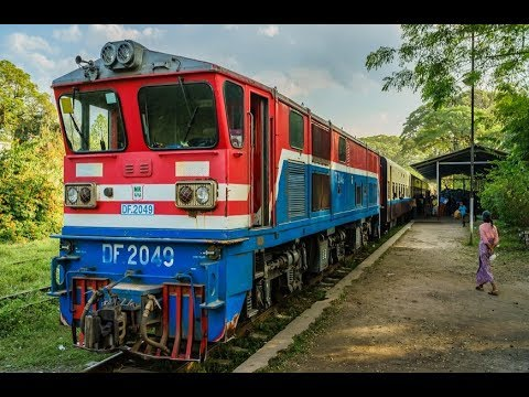 (2017) Mit dem Zug durch - Myanmar | Doku HD