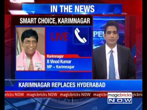 Centre replaces Hyderabad with Karimnagar in Smart City list - The Property News