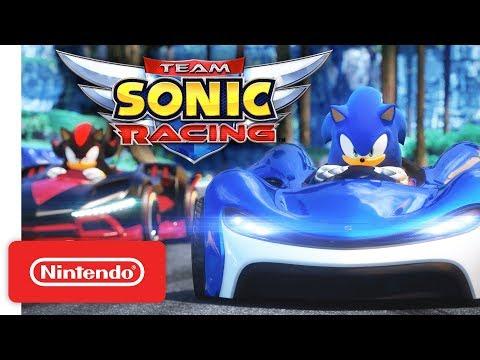 Team Sonic Racing - Gameplay Trailer - Nintendo Switch