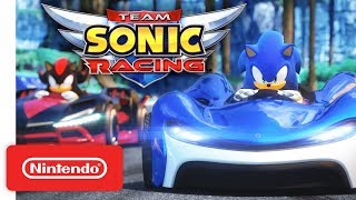 Team Sonic Racing - Gameplay Trailer - Nintendo Switch