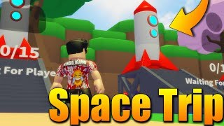 We RUN the MOCK-up BEFORE the ALIENS! 😱🔥 Roblox Space Trip w/Makousek