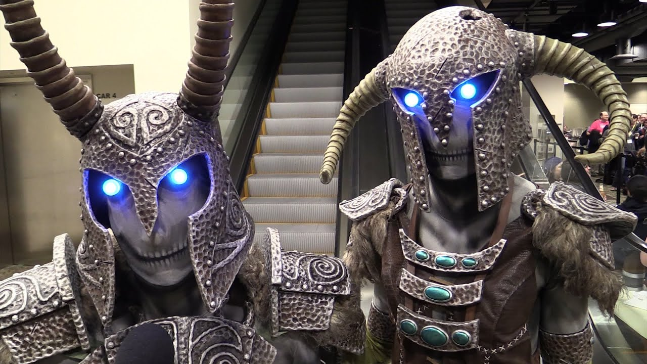 skyrim fans, the real draugr have arrived - youtube