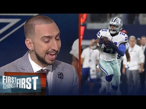 How will the Cowboys fare with Ezekiel Elliott suspended for 6 games? | FIRST THINGS FIRST