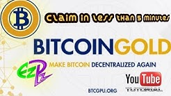 BITCOIN GOLD TUTORIAL FOR COINOMI ANDROID!! CLAIM IN 5 MINUTES OR LESS
