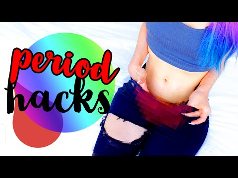10 Period Hacks All Girls NEED To Know!
