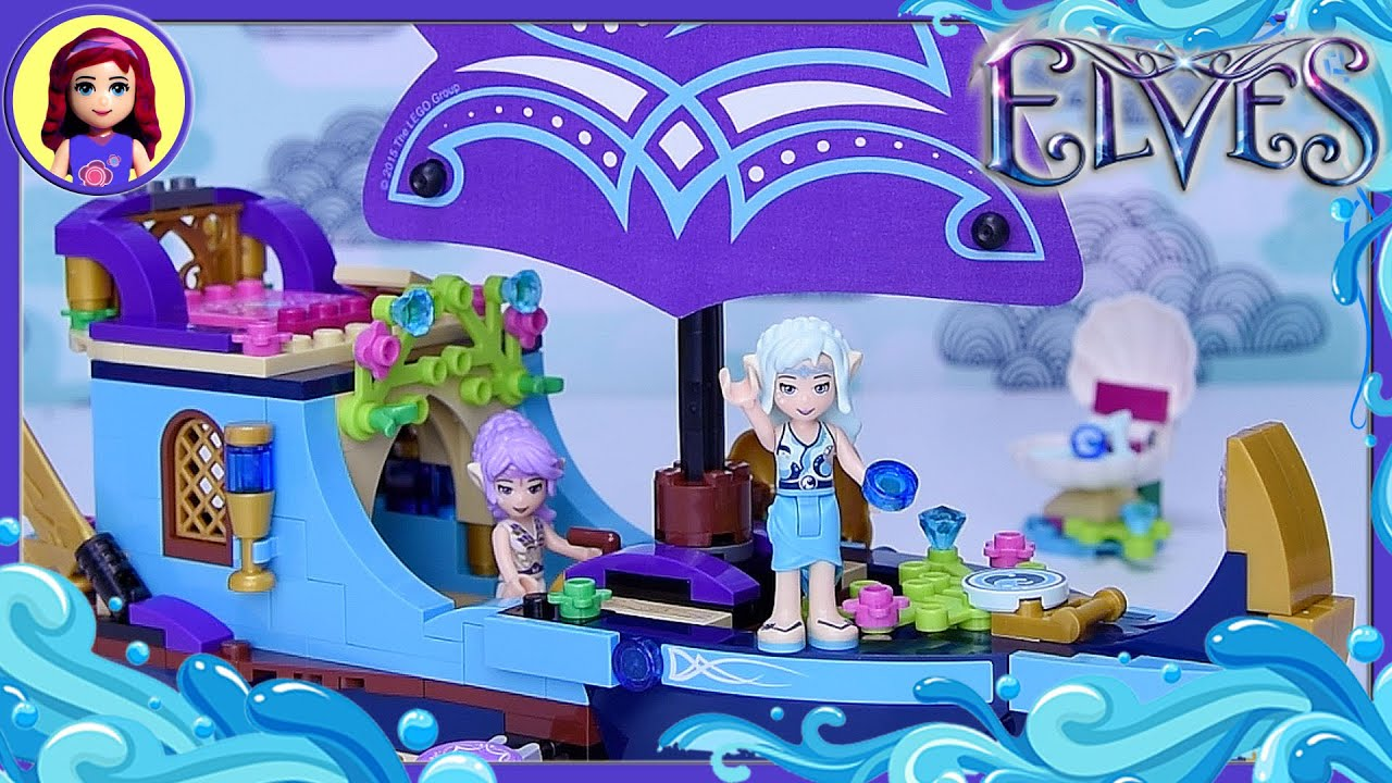 Lego Elves Naida S Epic Adventure Ship Build Review Silly