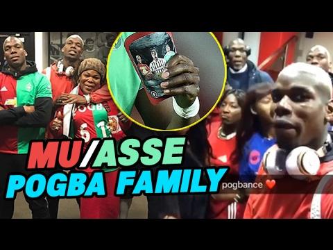POGBANCE à MU-ASSE : la folle soirée de la famille POGBA !