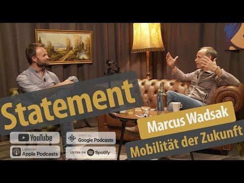 Mobilität der Zukunft - Wie bewegen wir uns von A nach B? | Marcus Wadsak | Hinterzimmer #020