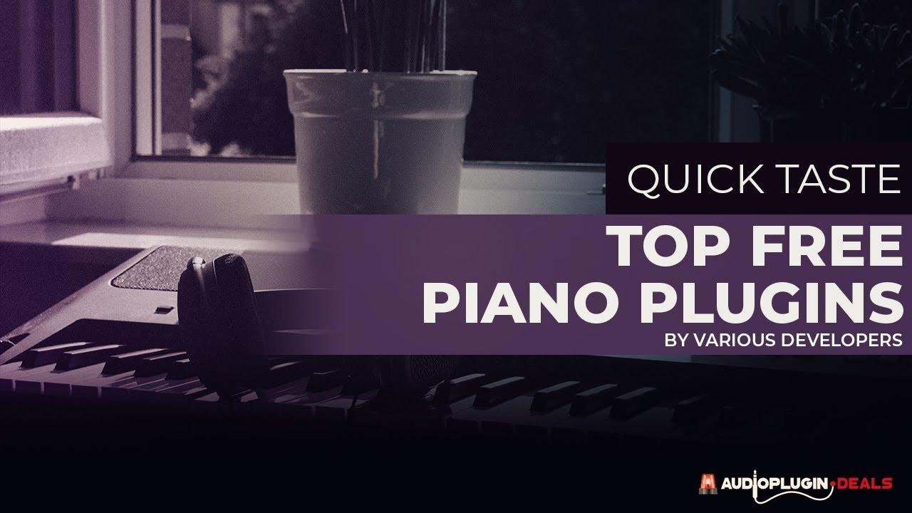 Top FREE Piano Plugins - Audio Plugin Deals