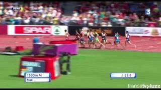 Final 1500m zurich Mekhissi répond à l'injustice et gagne le 1500m !