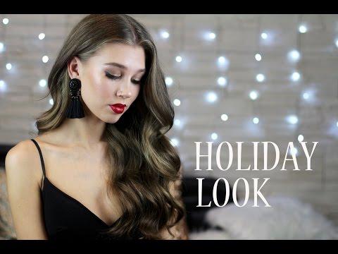 GRWM Праздничный макияж + КРУПНЫЕ элегантные локоны✨