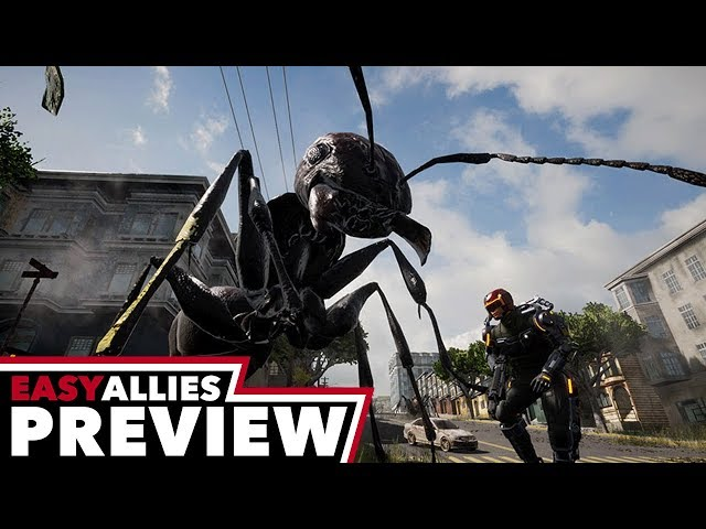 Earth Defense Force: Iron Rain - Hands-On Preview
