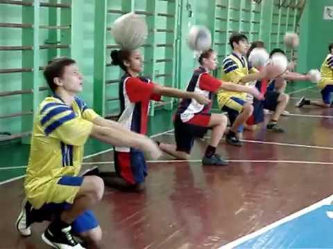 Видео урок по волейболу в 9 классе