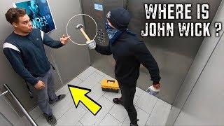 JOHN WICK ELEVATOR PRANK!