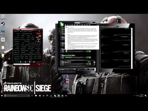 rainbow six siege how to fix fps drop