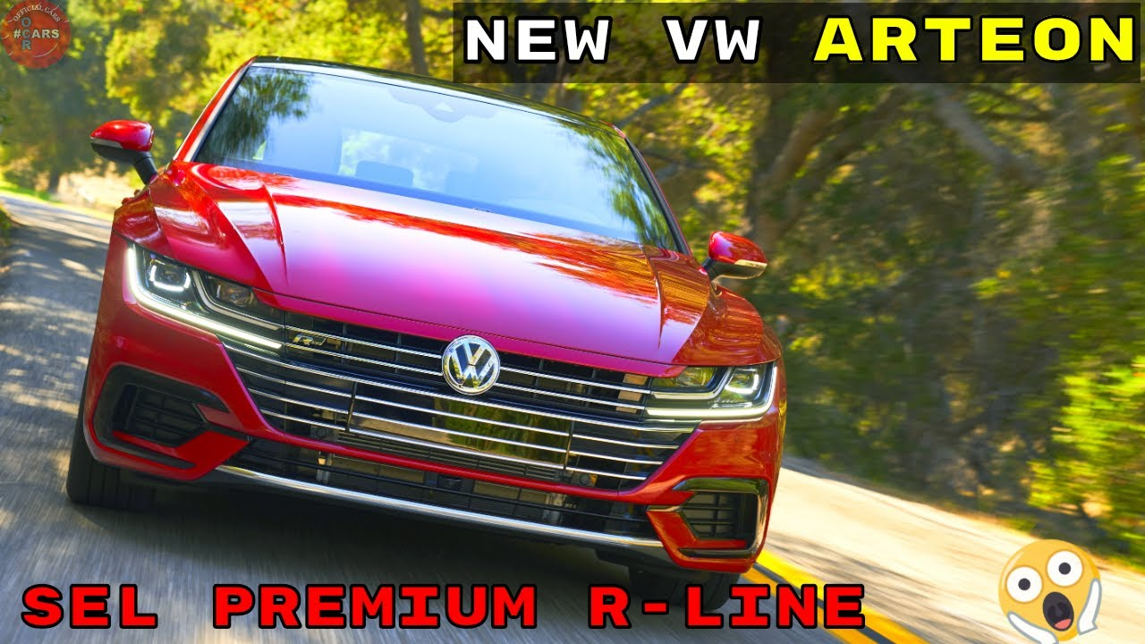 2020 Vw Arteon Premium R Line Sel 4 Motion Interior Exterior Design Driving Youtube