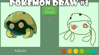 Pokémon Draw #1 - OP nos desenhos