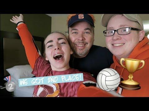 WE GOT 2ND PLACE! | VA Tech Volleyball Tournament Vlog