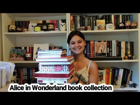 Alice in Wonderland book collection | 2017