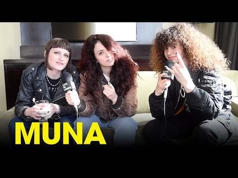 "MUNA discuss their debut album ""About U"" and getting mono at SXSW - Toronto, Interview"