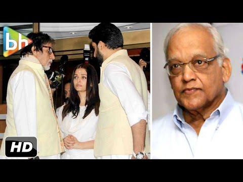 Aishwarya Rai Bachchan's Father Krishnaraj Rai's Prayer Meet | Amitabh Bachchan