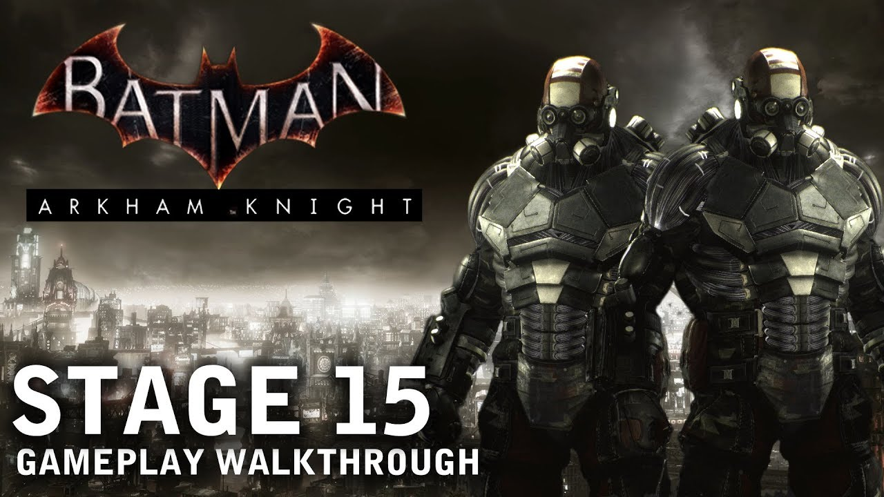Batman Arkham Knight Stage 15 Assault On Gcpd Ps4 Youtube