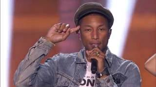 2016 Breakthrough Prize Ceremony: Pharrell Williams Performance