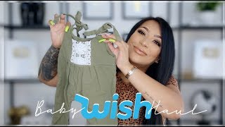 BUYING BABY ITEMS ON THE WISH APP! || REVIEW + HAUL