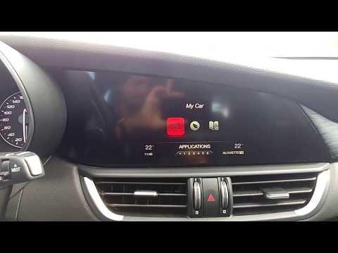Alfa Romeo Giulia : multimédia