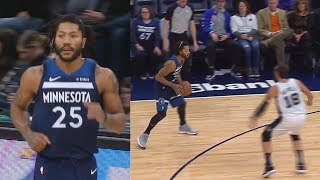 Derrick Rose Has Become TOO GOOD But Still Comes Off The Bench! Timberwolves vs Spurs