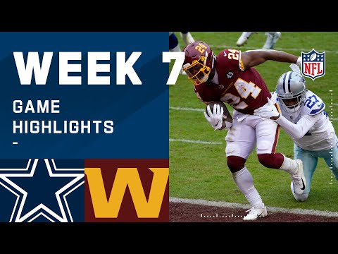 Cowboys vs. Washington Football Team Week 7 Highlights | NFL 2020