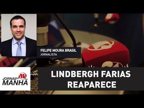 Lindbergh Farias reaparece e grava vídeo concordando com Gleisi | Felipe Moura Brasil
