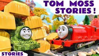 Thomas and Friends Toy Trains Pranks with naughty Tom Moss Minions and Lego Scooby Doo TT4U