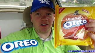 Reed Reviews Oreo Pumpkin Spice Cookies