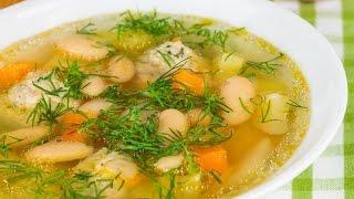 Суп с фрикадельками. Вкусный и простой рецепт