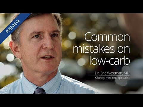 [Preview] Common mistakes on low carb