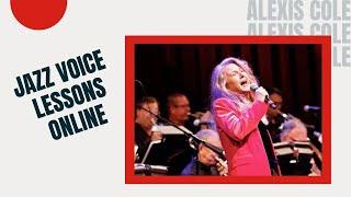 Legato + Spoken = Swing: Jazz Voice Lessons Online