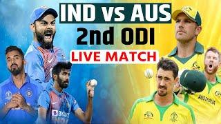 INDIA vs AUSTRALIA 2nd ODI | LIVE MATCH UPDATES | SYDNEY CRICKET GROUND
