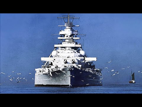 Bismarck Battleship Vs Modern Destroyer