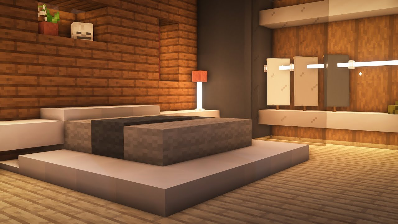 Minecraft: How to Build a Modern Bedroom