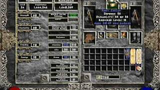 Diablo 2 - How to Kill Duriel with the Barbarian (NO town portals, NO merc)