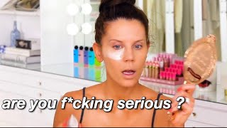 tati westbrook ENDING popular makeup brands for 4 minutes straight